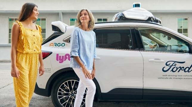 Argo AI and Ford to launch self-driving vehicles on Lyft network by end of 2021