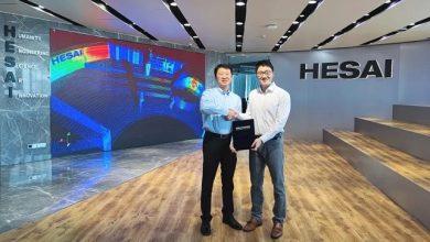 Hesai to help WeRide develop advanced hardware platform for autonomous cars