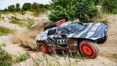 Audi unveils 500 kW series-hybrid RS Q e-tron Dakar racer