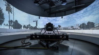 Dynisma reveals the world's most advanced driving simulator for automotive vehicle and motorsport development