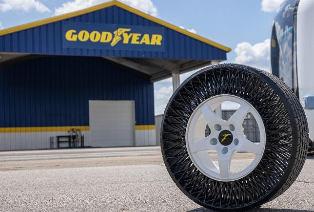 Goodyear airless tire first on autonomous shuttles