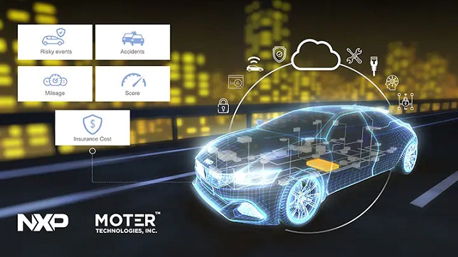 NXP Semiconductors and MOTER Technologies join forces to extend connected vehicle insurance opportunities