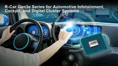 Renesas launches R-Car Gen3e with up to 20 percent higher CPU speed for automotive infotainment, cockpit, and digital cluster systems