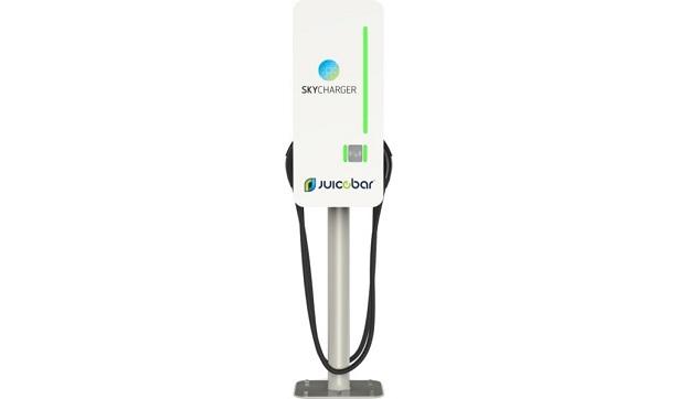 SKYCHARGER announces partnership with JuiceBar