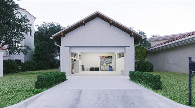 myQ® Connected Garage brings voice-controlled garage door opening capability to the car's infotainment system
