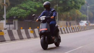 Ola Scooter goes on a ride. Launch Imminent.