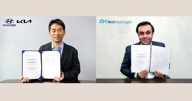 Hyundai Motor and Kia collaborate with Next Hydrogen to develop advanced alkaline water electrolysis system