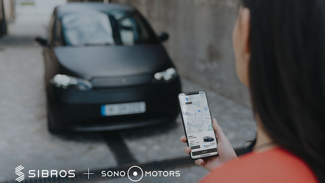 Sono Motors selects Sibros to power the connected vehicle ecosystem for Sion, the company's first solar electric vehicle