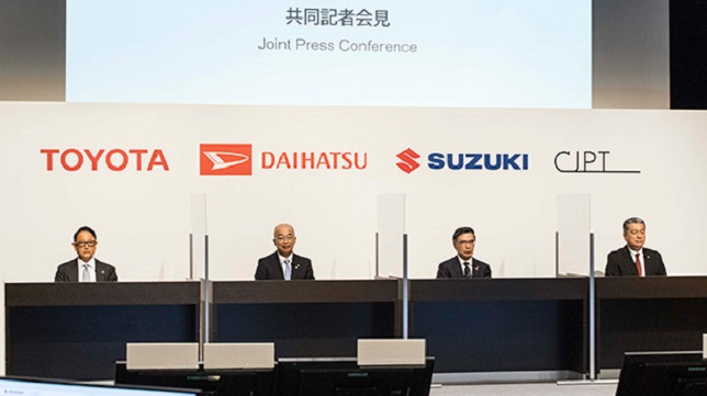 Suzuki and Daihatsu join Commercial Japan partnership for dissemination of CASE technologies in mini-commercial vehicles