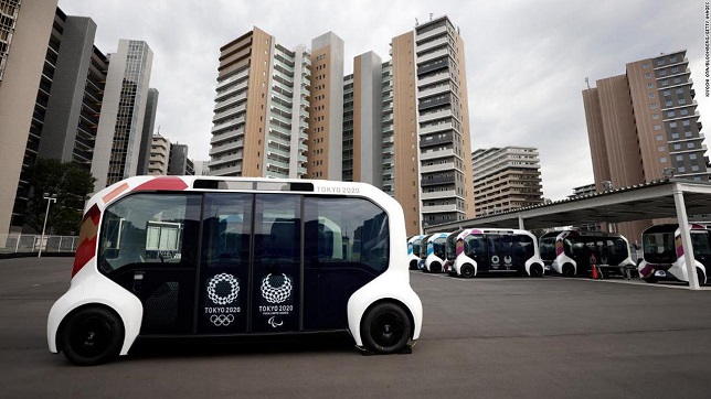 Resumption of services of the Toyota e-Palette vehicle and additional safety measures at the Tokyo 2020 Paralympic Athletes' Village