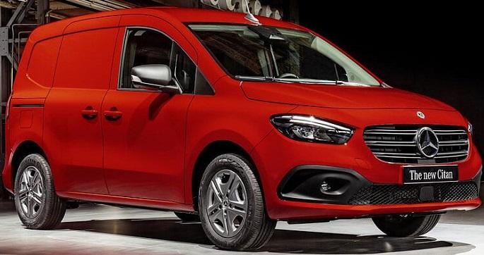 The new Mercedes-Benz Citan: a grand offering in the small van segment