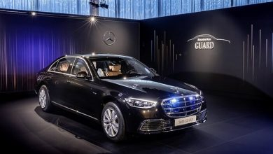 GUARD: special protection version of the new S-Class, for the first time with all-wheel drive