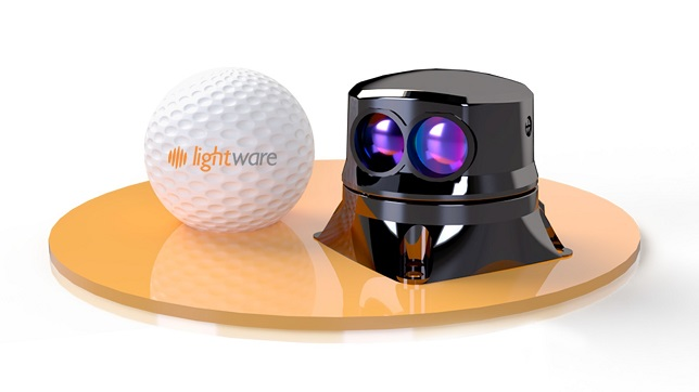 LightWare gives machines EYES with the world's smallest scanning microLiDAR™