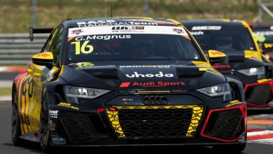 Gilles Magnus achieves first victory by a customer in the new Audi RS 3 LMS