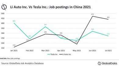 Li Auto outpaces Tesla in China job postings, reveals GlobalData