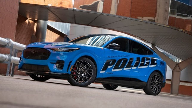 In pursuit of zero emissions, Ford submits all-electric police pilot vehicle for Michigan State Police testing