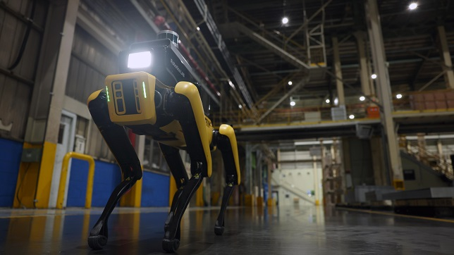 Hyundai Motor Group launches 'Factory Safety Service Robot'