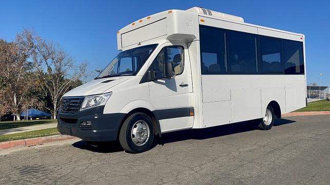 GreenPower delivers EV Star Plus passenger bus to Fraser Academy