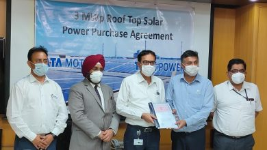 Tata Motors signs a PPA with TATA Power to commission 3 MWp solar rooftop project at its Pune plant