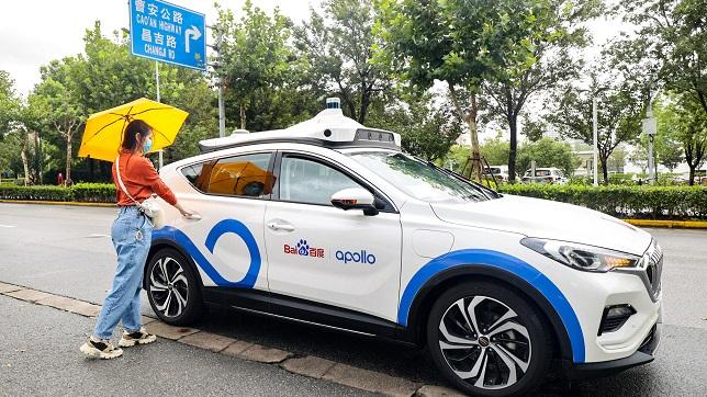 Baidu opens robotaxi service in Shanghai with Apollo Go ride-hailing platform