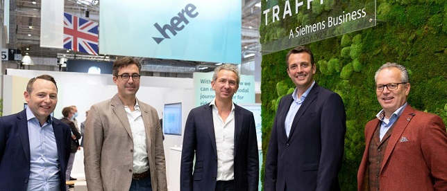 Yunex Traffic and HERE expand partnership to create proactive traffic management solutions