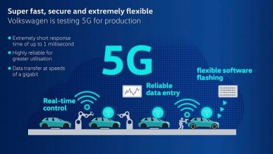 Volkswagen tests 5G for production on its way to smart factories