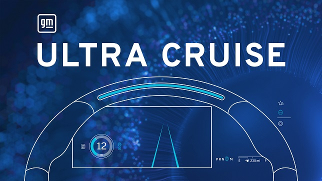 GM announces Ultra Cruise, enabling true hands-free driving across 95% of driving scenarios