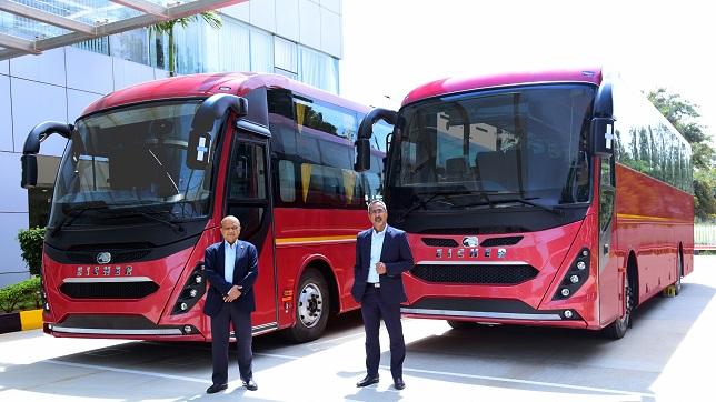 Eicher establishes a new standard in Intercity luxury bus travel with a new Coach & Sleeper platform