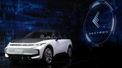Foxconn debuts three self-developed electric vehicle models