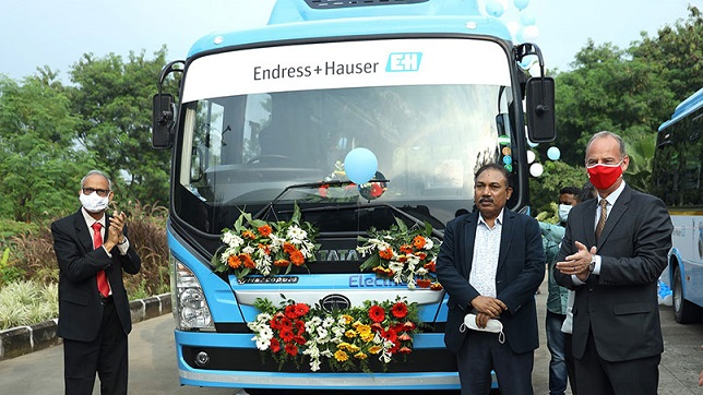India: Tata Motors joins hands with Endress+Hauser Flowtec to offer electric mobility for employee transportation